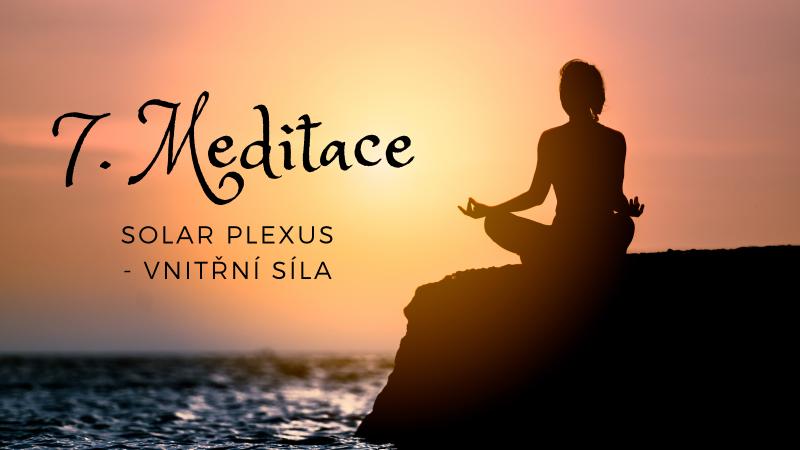 Meditace na třetí čakru