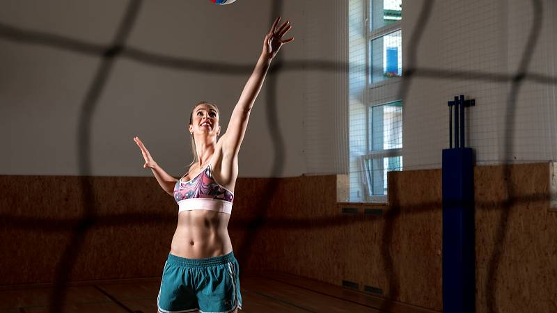 Volejbalové triky Heleny Havelkové