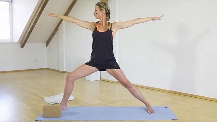 Iyengar jóga: Uzdravující sekvence pro krk a ramena