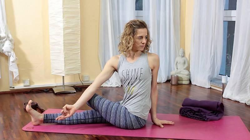 Jóga na uvolnění kyčelních kloubů, cvičení pro raky.
