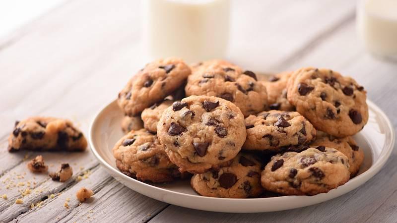 Zdravé čokoládové sušenky