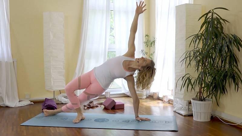 Zuzana Klingrová: jóga zaměřená na střed těla
