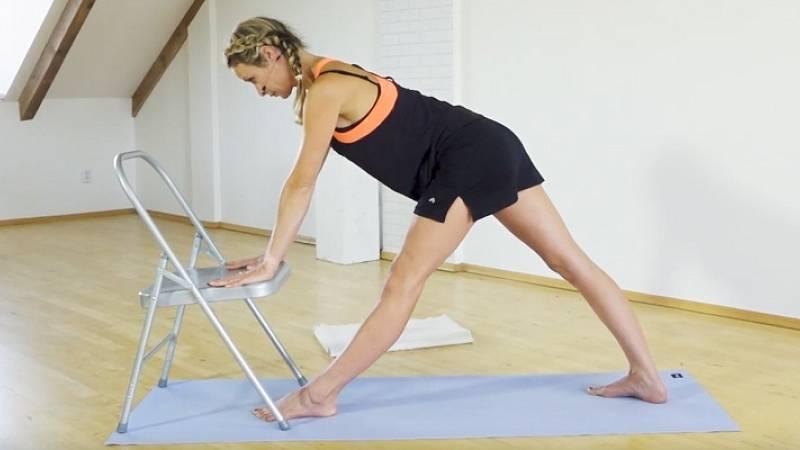 Iyengar jóga: Uvolnění spodní části zad