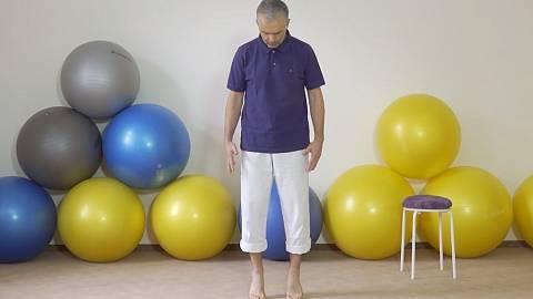 Abeceda procítění vlastního těla - kotníky