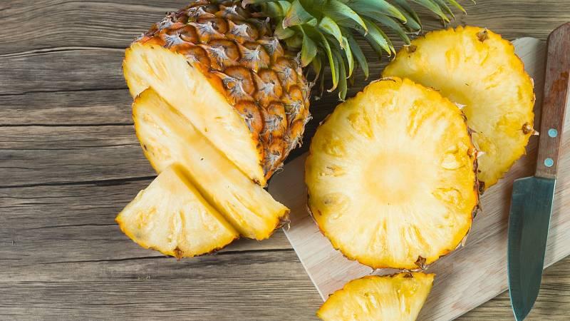 Ananas je plný vitamínů