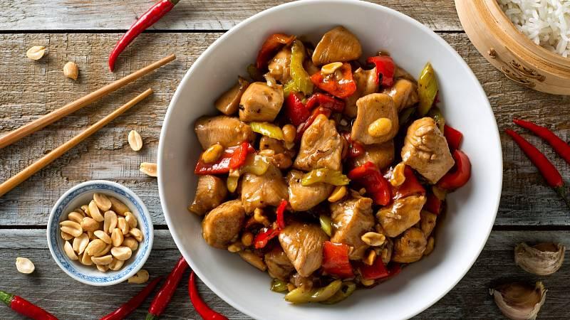 Recept: Kuřecí kung pao