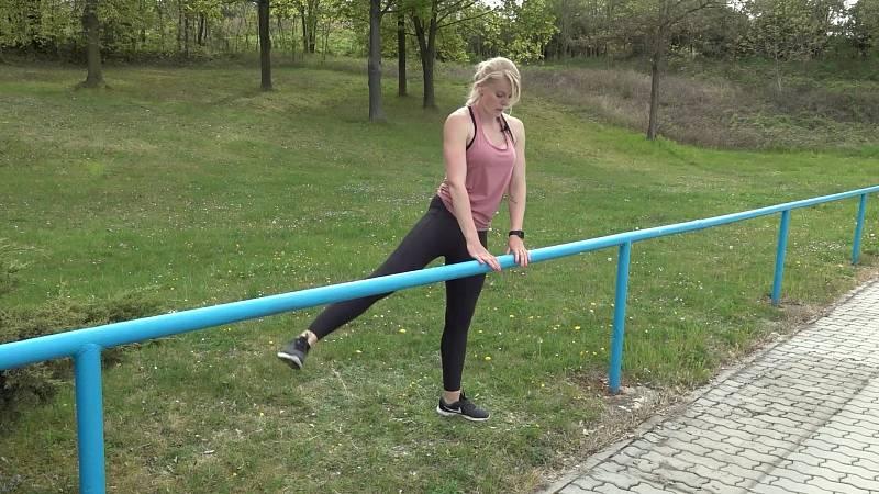 Cvičení se zábradlím 3