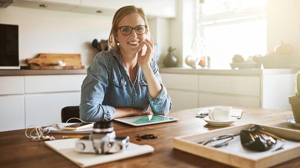 Proč ženy nemají svou pracovnu?