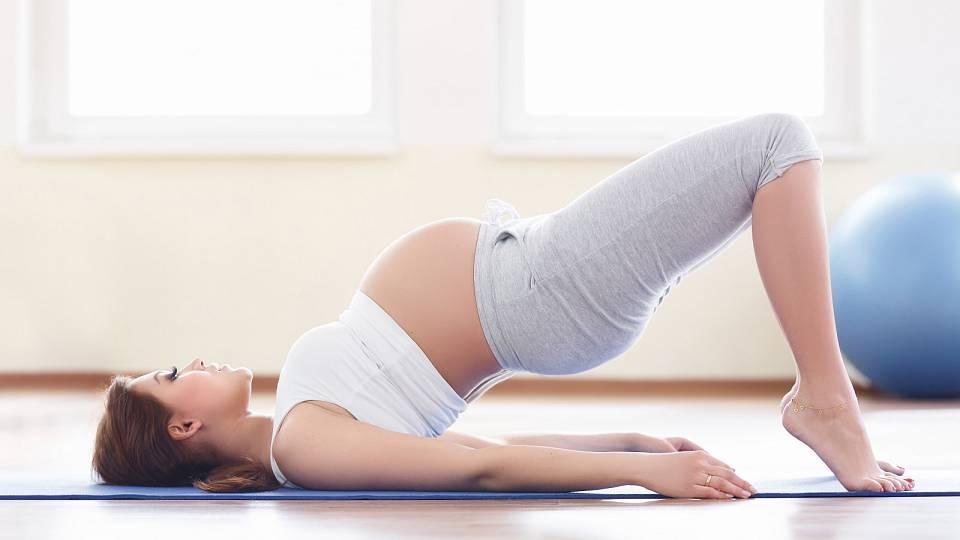 Jak je to s cvičením v těhotenství