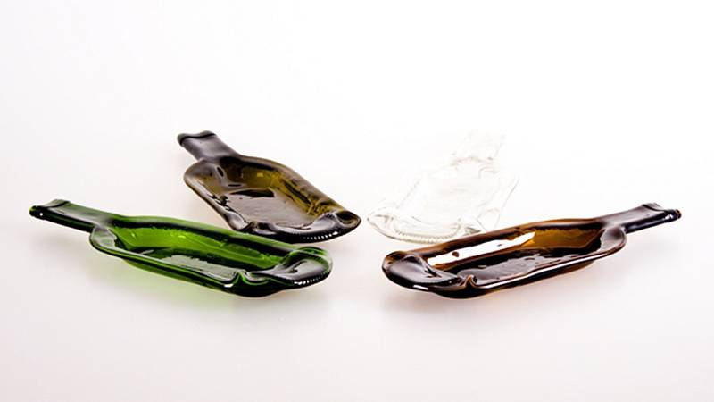 DT GLASS, Miska na drobné pohoštění z láhve od vína, 299 Kč/ks