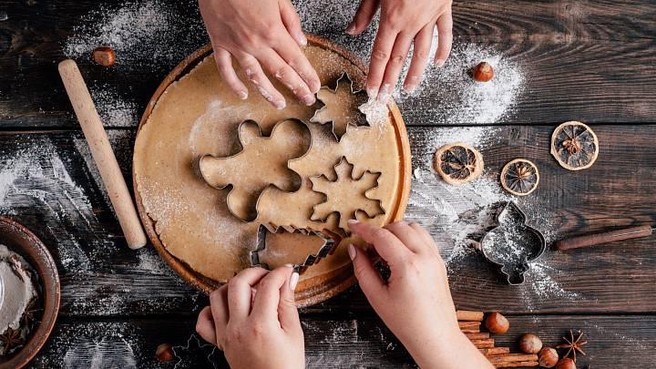 3 recepty na tradiční vánoční cukroví v odlehčené variantě