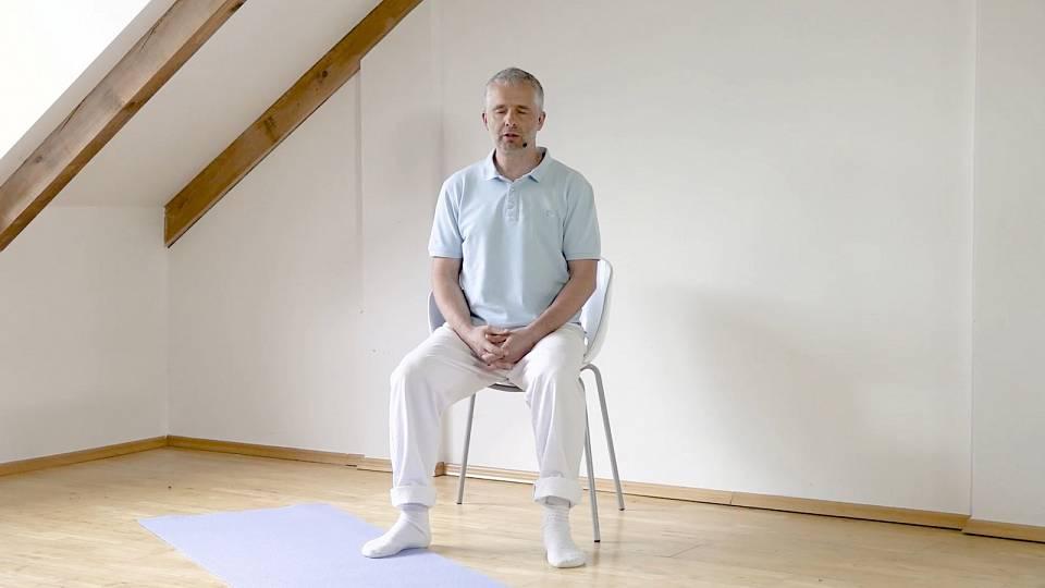Meditace po náročném dni