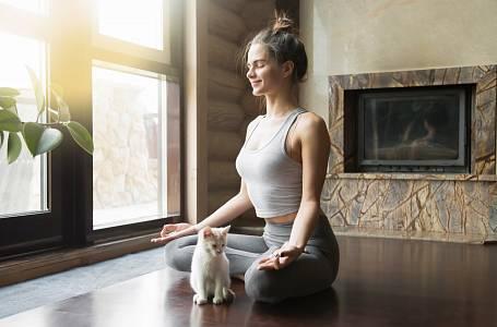 Meditace na videoportálu Kondice
