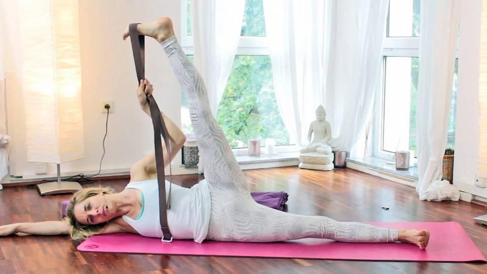 Jóga na dolní část těla, uvolnění bolesti v bedrech