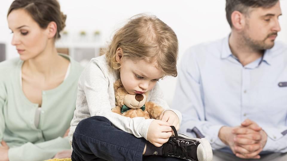 Jak říct dítěti: Rozešli jsme se?