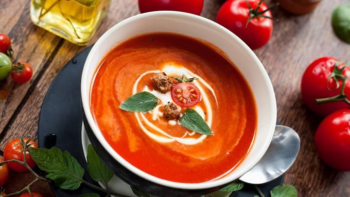 Recept: Jednoduchá polévka z rajčat