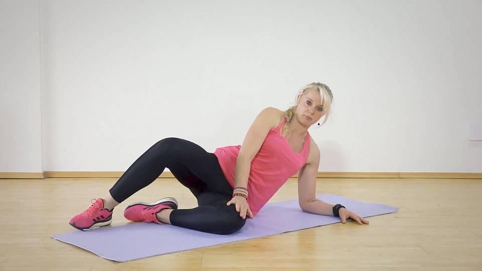 Posílení středu těla bez zatížení kolen 3