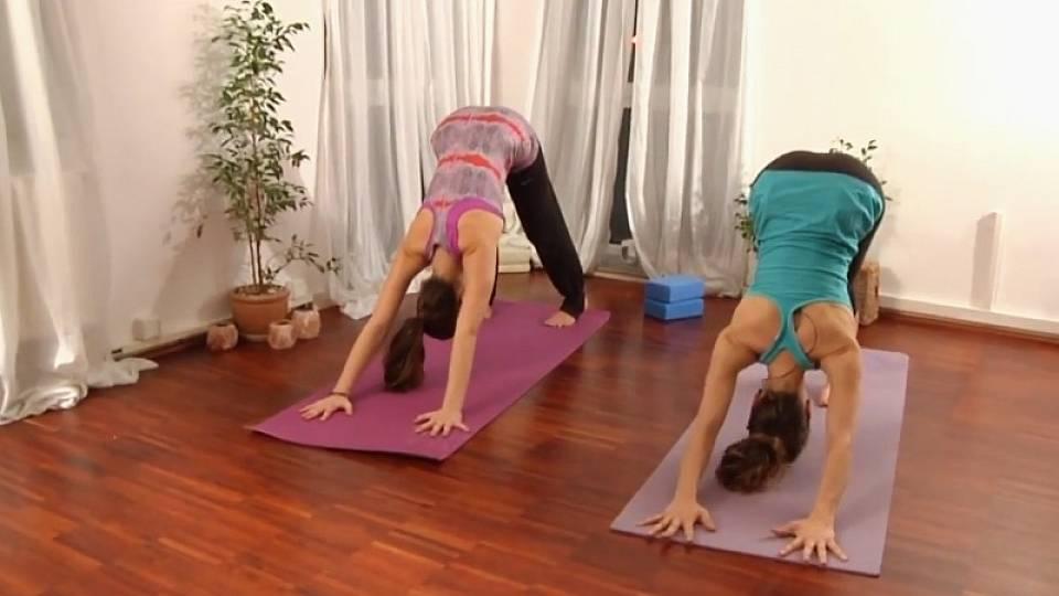 Lekce jógy na odbourání stresu a únavy