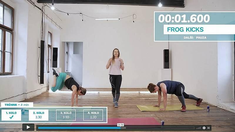 Krátký workout s Lu Gregorovou, cvičení vhodné pro vodnáře.