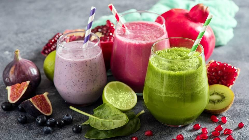 3x snídaňové smoothie posilující imunitu