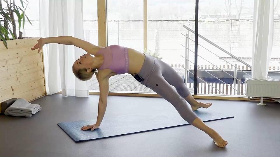 Pilates pro posílení a zpevnění celého těla