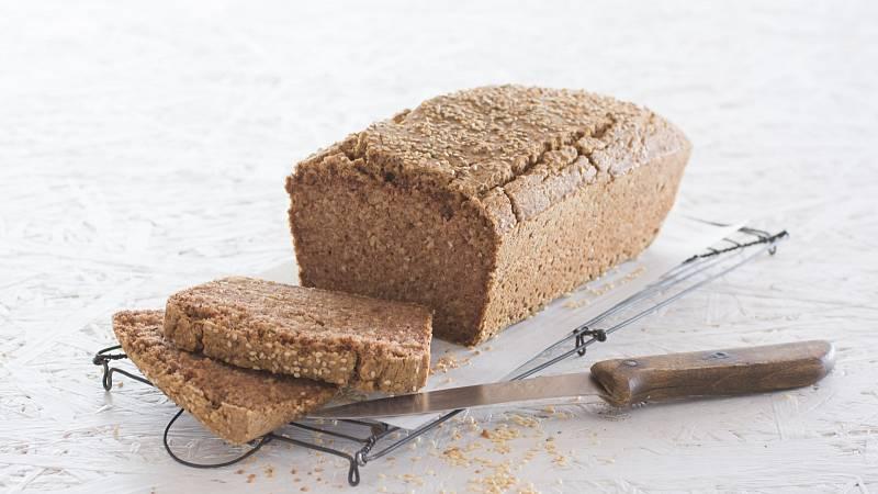 Chléb z pohanky a rýže je vhodný pro bezlepkovou dietu.