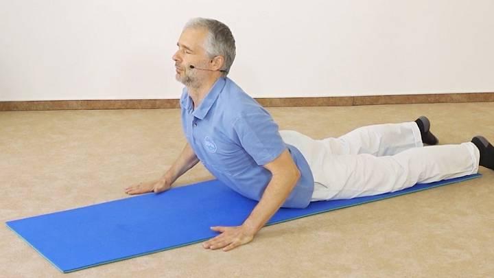 Aktivace bederní páteře a zpevnění středu těla