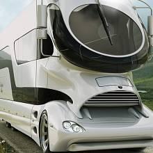 """Futuristicky vyhlížející karavan """"eleMMent Palazzo"""" nabízí originalitu, kam lidské oko dohlédne"""