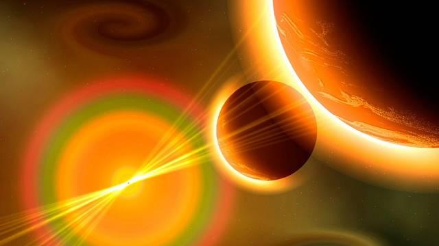 Magnetické bouře mění ionosféru Země.