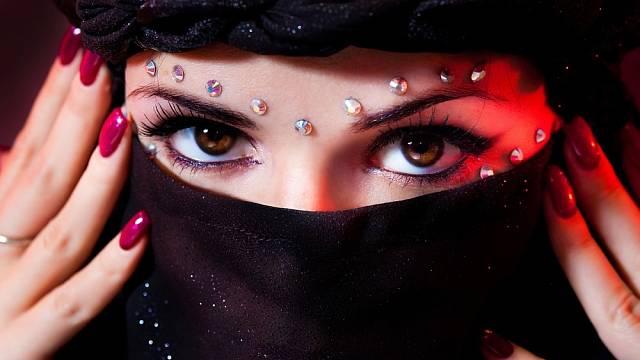 Arabské ženy věnují zvláštní péči jejich obličeji