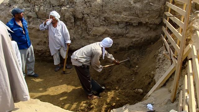 Archeologické práce v Gíze trvají desetiletí