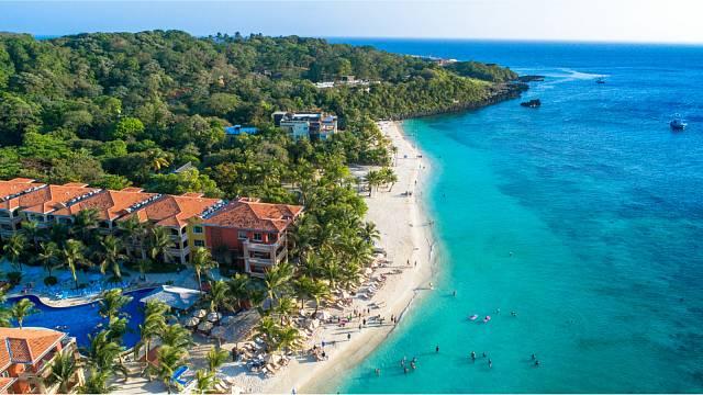 Ostrov Roatán, Honduras