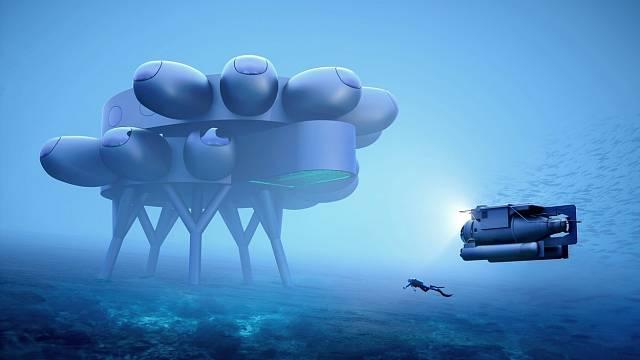 Návrhy na plavidla a přístroje pro podmořské expedice