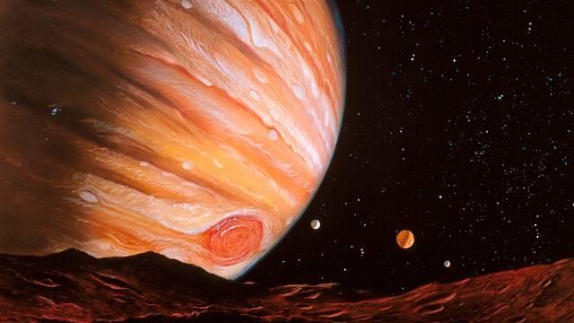 Na Jupiteru se začaly dít podivné věci