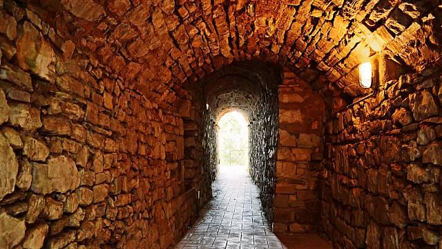Starověký tunel v Itálii