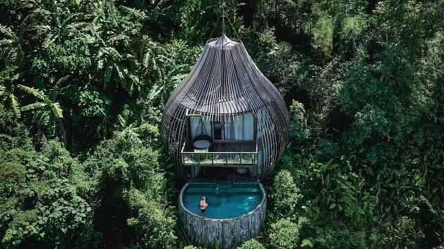 Luxusní místo na dovolenou, Phuketu, Thajsko