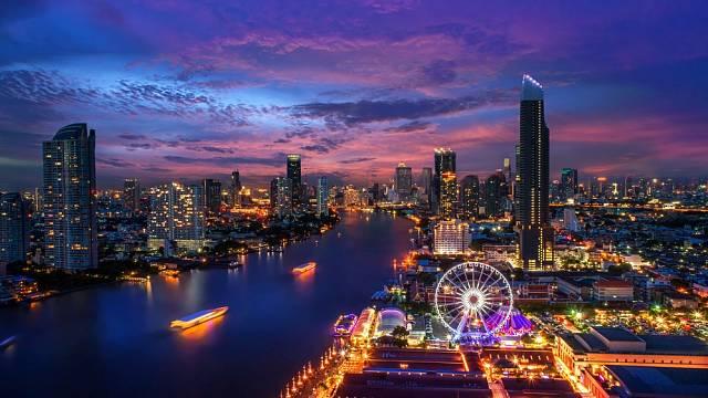 Nejdelší název města na světě má 165 znaků a jedná se o Bangkok