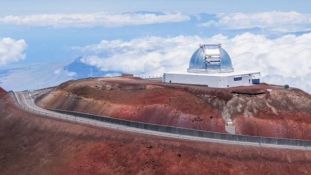 Observatoř Mauna Kea, Big Island, Hawai