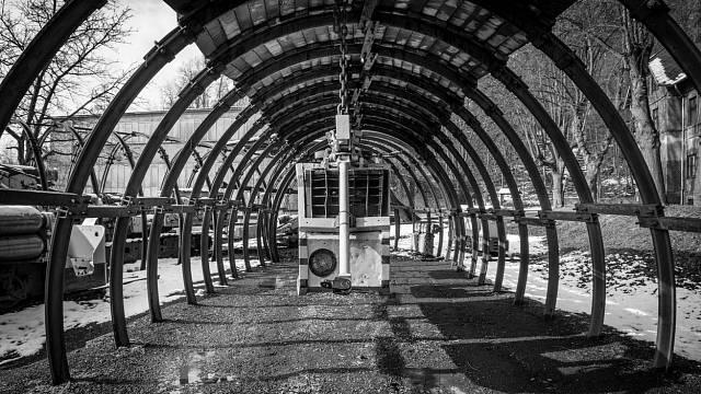 Starý důl Landek, Ostrava.