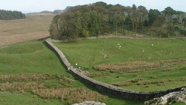 Hadriánova zeď, Anglie