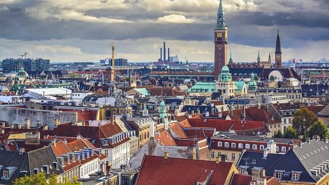 Kodaň, Dánsko. Dánsko je zemí s nejvyšší životní úrovní na světě