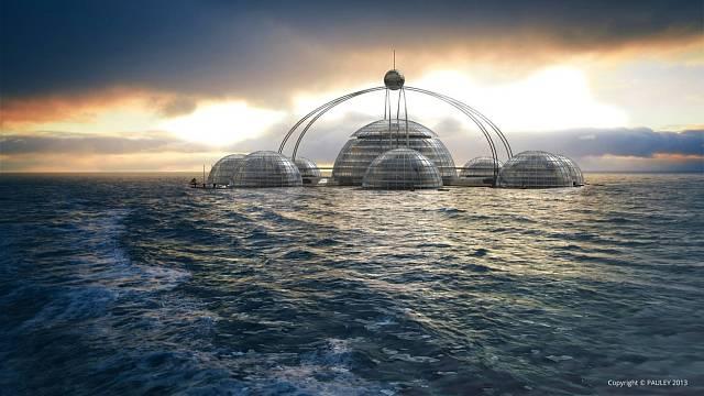 Podmořské město určené pro akvanauty, turistiku a oceánografy