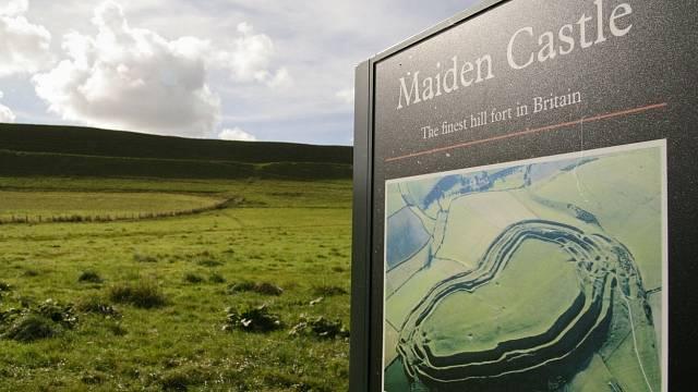 Pevnost Maiden Castle