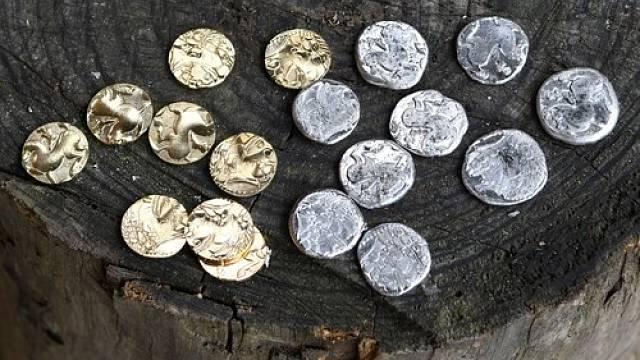Největší zlatý poklad v Evropě našel muž z Podmokel