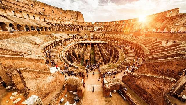 Koloseum patří k nejvýznamnějším stavbám světa