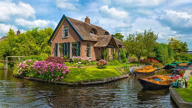 Romantický Giethoorn, Nizozemsko
