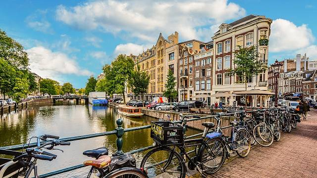 Záplava kol patří k celému Nizozemí.