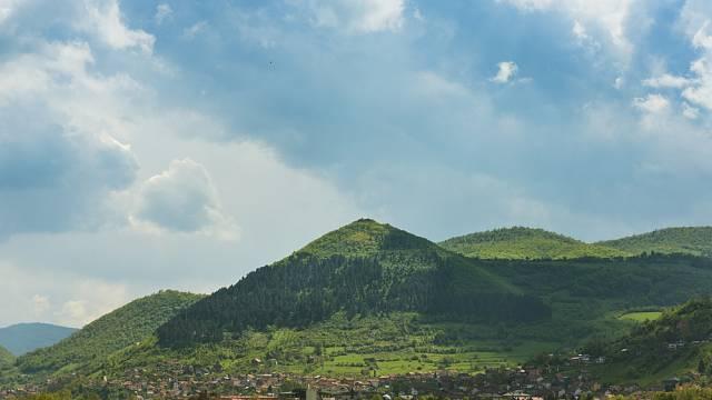 Pyramida Slunce je vyšší než Cheopsova pyramida v Gíze