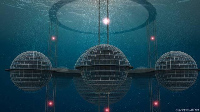 Návrhy podmořských měst získávají popularitu