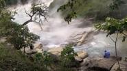 Peruánská řeka La Bomba je divem světa
